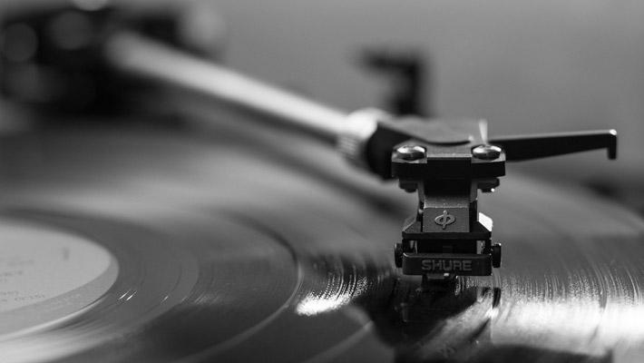 Schallplatten hören ist wie...
