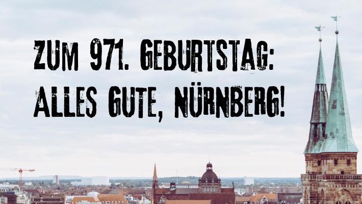 Ständchen zum 971. Geburtstag der Stadt Nürnberg