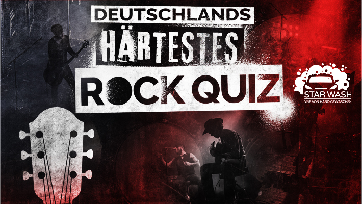 Deutschlands härtestes Rock-Quiz