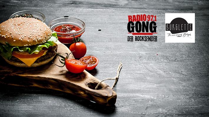 GONG 97.1 - Der Rocksender feiert mit euch die Burger-Preview!