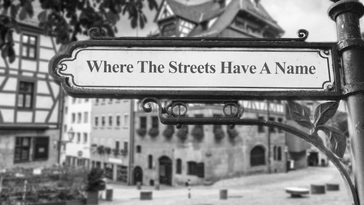Where The Streets Have A Name - Jetzt Wunschstraße eintragen!